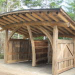 Dana woodshed